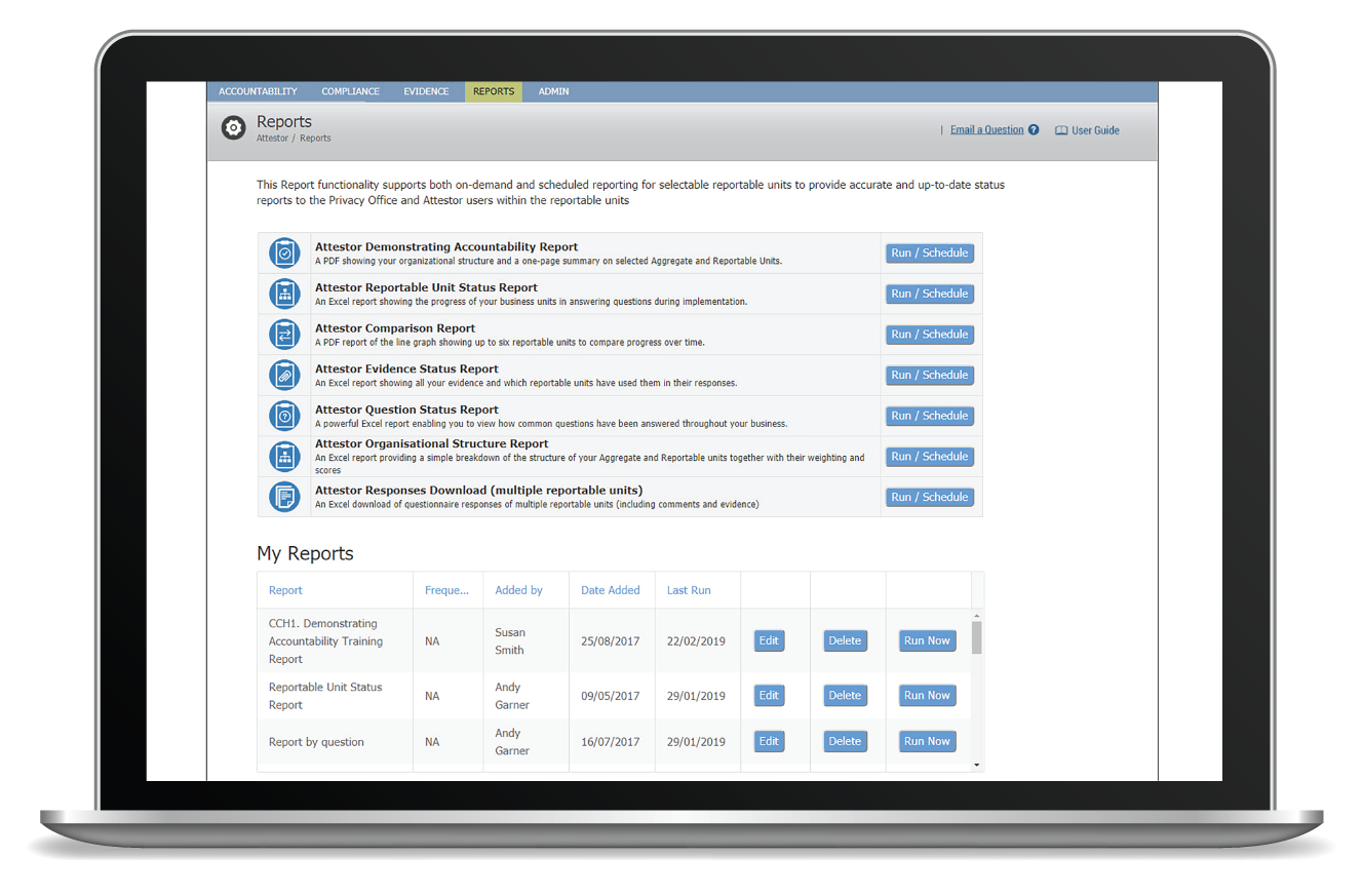Business Friendly Monthly And On-Demand Reporting