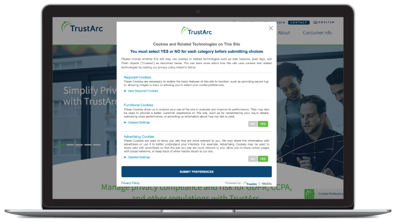 trustarc-platform-laptop