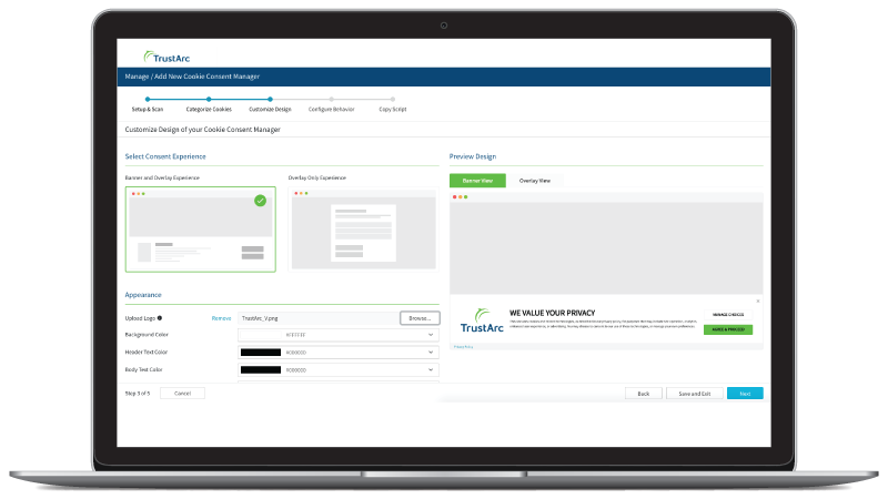 TrustArc Individual Rights Manager Desktop