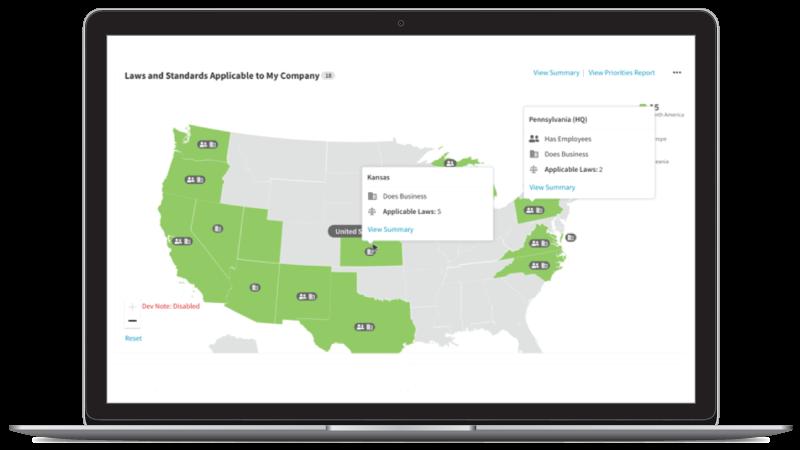 TrustArc Regions Dashboard