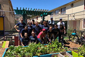 TrustArc Gives Back - Urban Garden