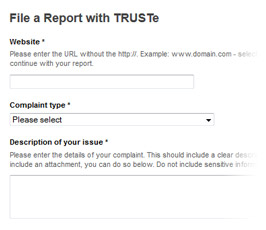Privacy dispute resolution services are an integral part of TRUSTe's DPM.