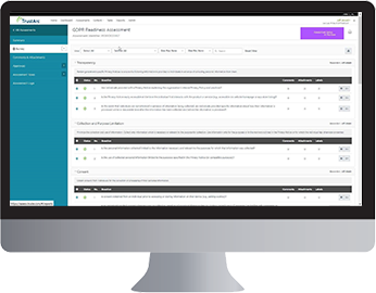 Data privacy Assessment Manager from TRUSTe.